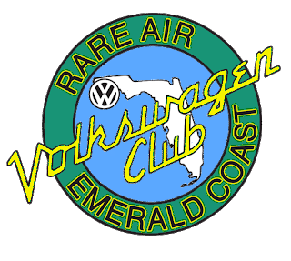 Rare Air Emerald Coast Volkswagen Club logo
